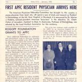 APF News – January 1952