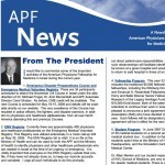 APF Newsletter, Winter 2007 – 2008