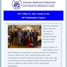 APF e-Newsletter #81 April 2019