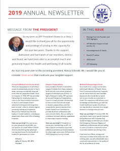 2019 Annual Newsletter