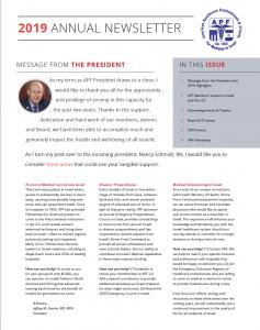2019 Annual Newsletter