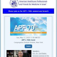 APF e-Newsletter #91 February 2020
